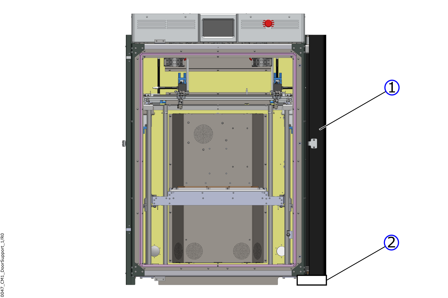 Door with Support Object