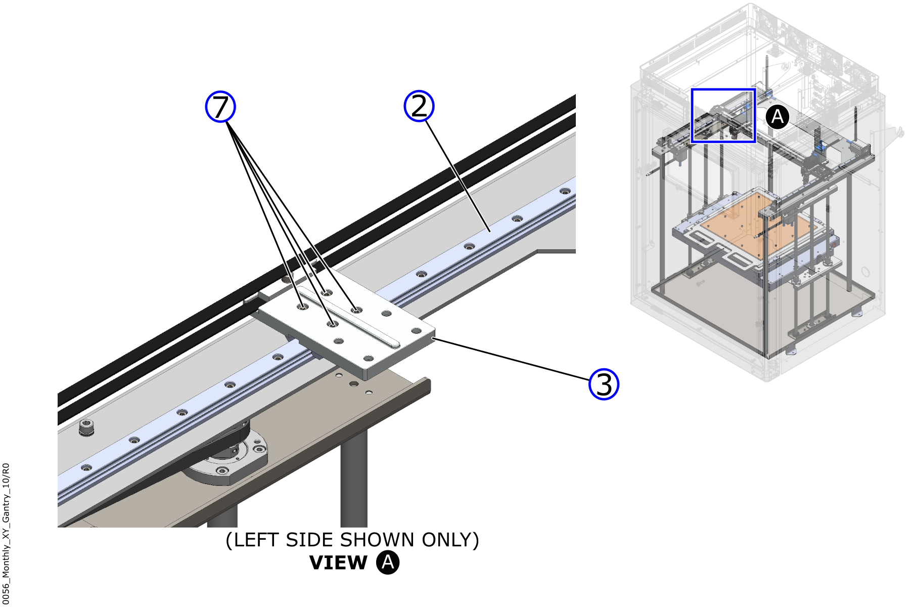 Adjustment Screws for Mounting Plate