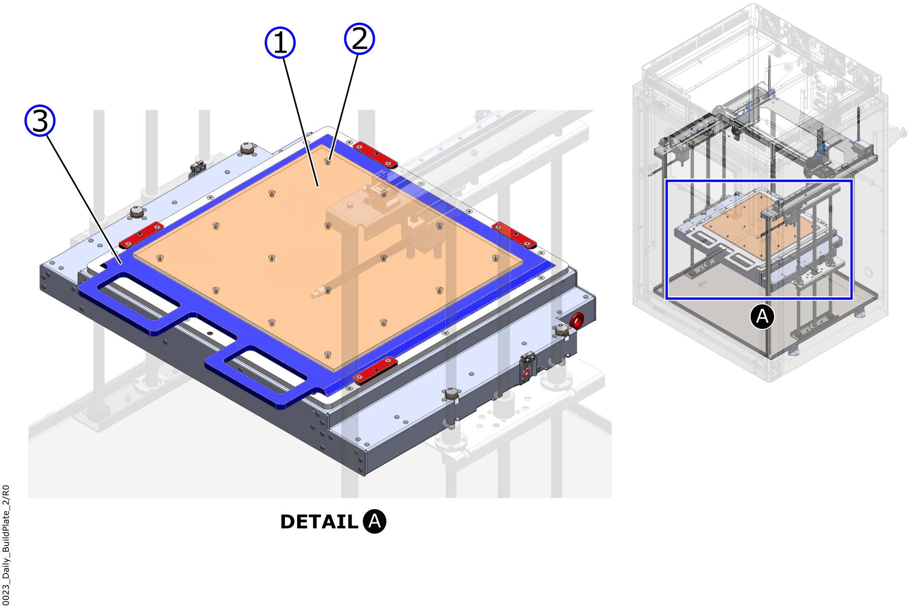 Build Plate Screws