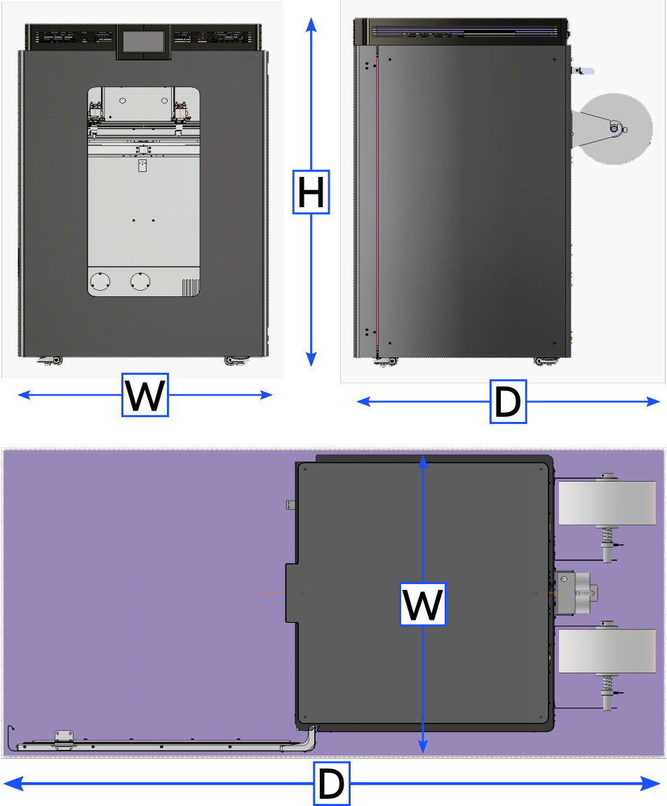 AON-M2 Dimensions