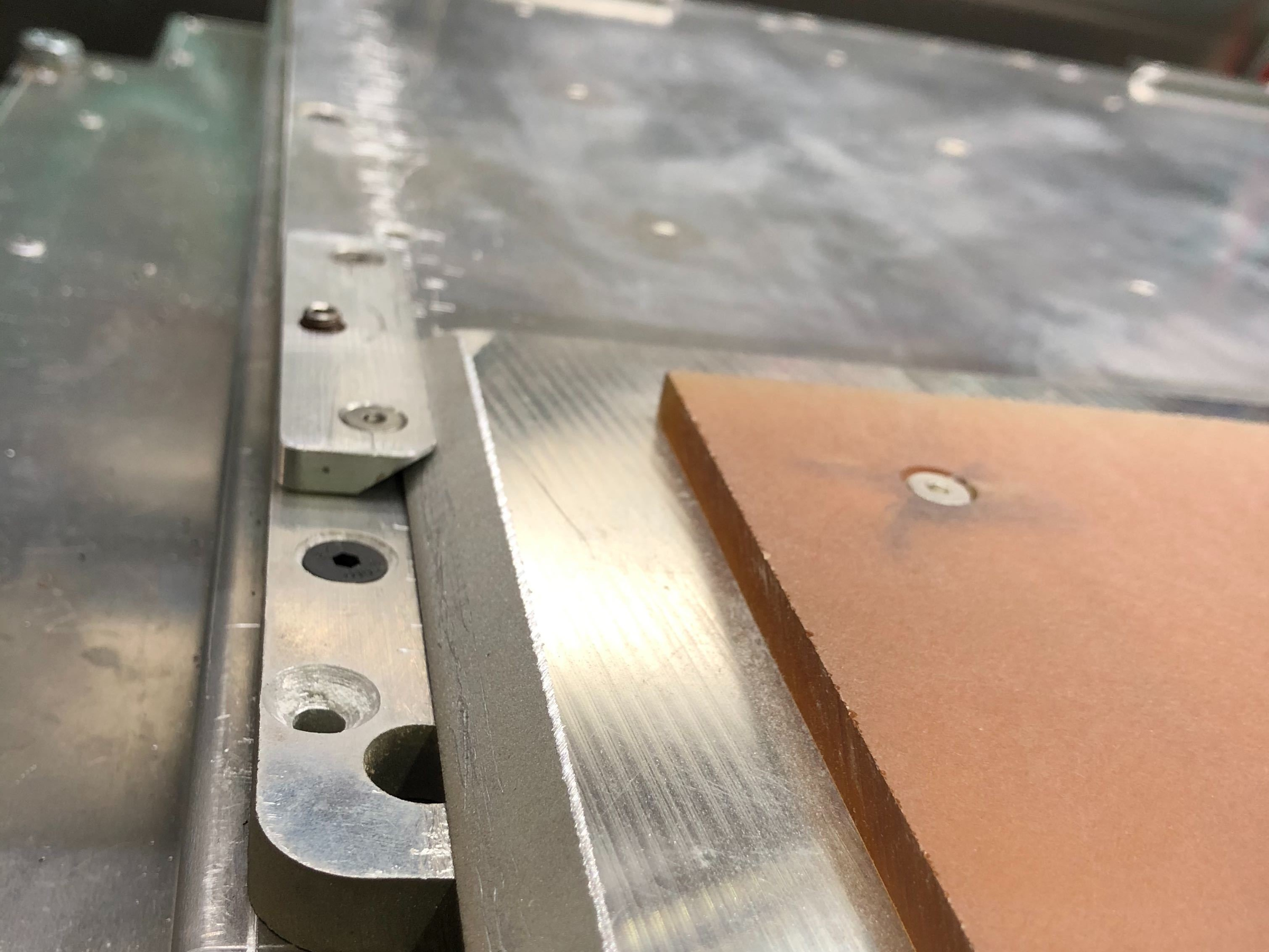 Slide the Build Plate Under the Clamp