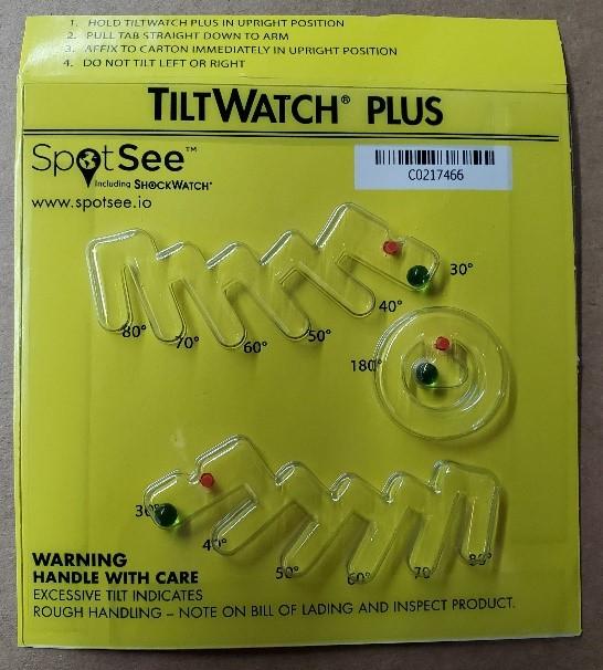 TiltWatch® Plus Indicator