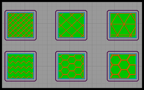 Internal Fill Pattern