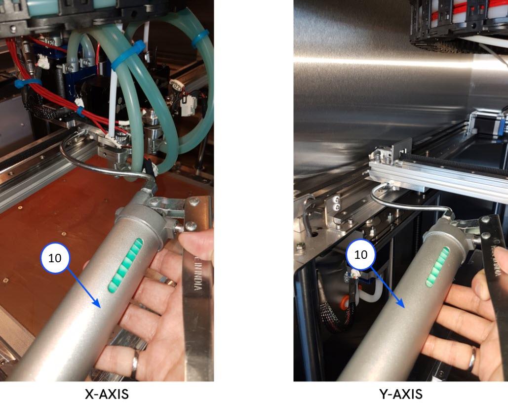 XY-Axis Grease Gun